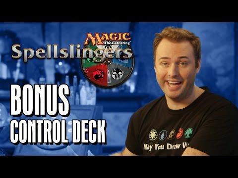 Spellslingers Instructo-Pod #1 Bonus: Control Deck Archtypes