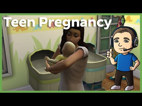 Sims 4 - How to Get A Teen Pregnant (No Mods or Cheats)