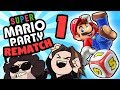 Super Mario Party The REMATCH Were The Baddies PART 1 Game Grumps VS
