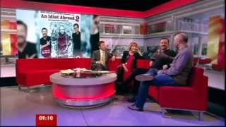 Ricky Gervais and Karl Pilkington - BBC Breakfast (6/12/11)