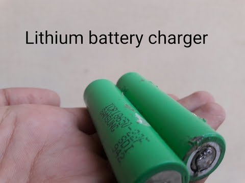 How to make a 18650 lithium battery charger at home ...