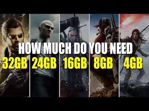 How Much RAM Do You Really Need For Games