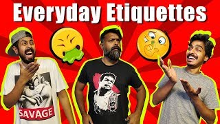 Everyday Etiquettes | Comedy Skit | Bekaar Films