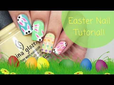 🐰 Easter Nail Art Tutorial! 🐰