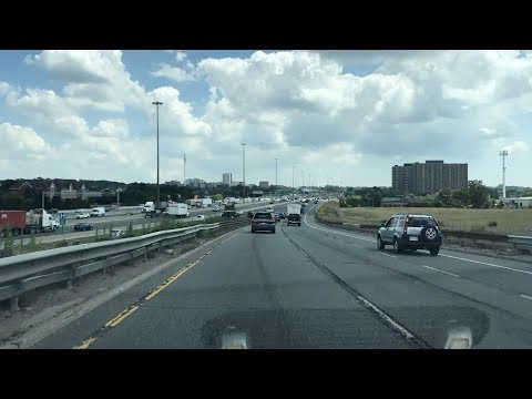 Driving to Toronto Yorkdale Shopping Centre from Bolton Caledon ON