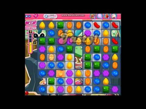Candy Crush Saga: The Real Way to Pass Level 35 with ★★★