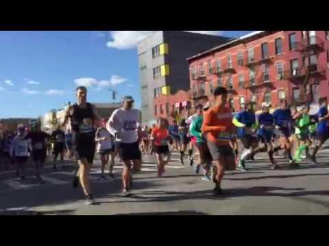 NYC Marathon 2016 Brooklyn Sunset Park