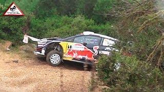 Oops Moment Ogier   Action Shakedown Rallye Sardegna 2018 [Passats de canto]