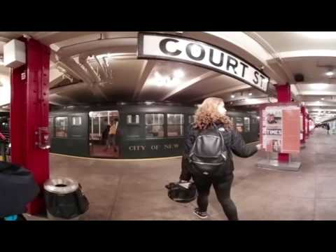 NYC Transit Museum in 360