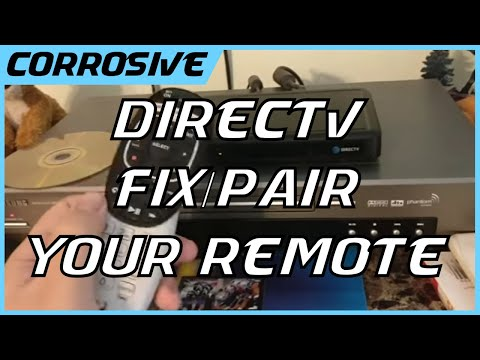 How to fix/pair DirecTV remote to reciever