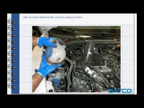 Timing kit installation Skoda Octavia 2.0 TDI - Engine: CEGA