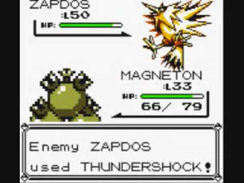 zapdos with Ultra ball (Pokemon Yellow)
