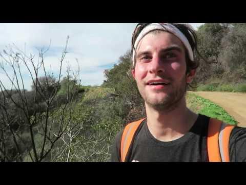 Biking into the Santa Monica Mountains