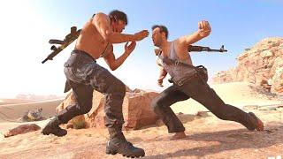 Rambo vs Die Hard (Sylvester Stallone vs Bruce Willis) - COD Black Ops: Cold War All Takedowns