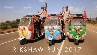 Rikshaw Run 2017 Flag Off Kochi | Adventure run from Kochi - Goa - Mumbai - Rajasthan | India