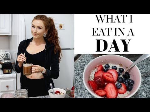 WHAT I EAT IN A DAY (The Truth!!)