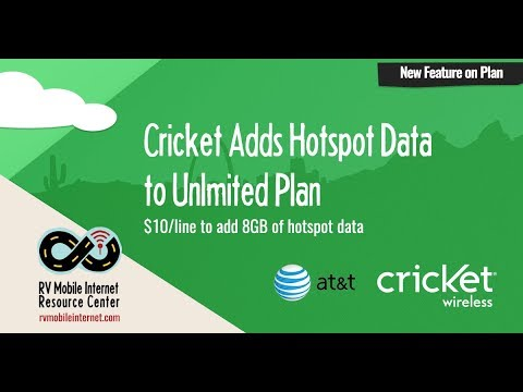 Cricket Wireless Adds Mobile Hotspot Option to Unlimited Smartphone Plans