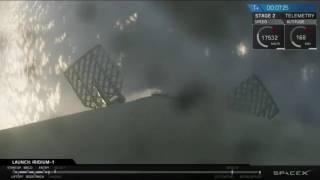 SpaceX Iridium-1 NEXT Mission (SHORT VIDEO - 1st stage landing)