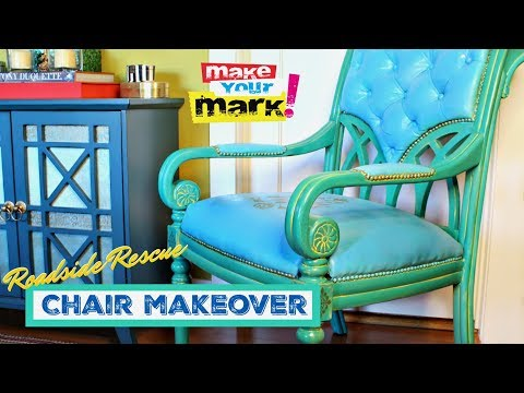Roadside Rescue Chair Makeover