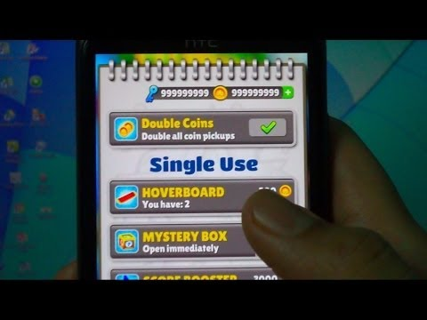 UNLIMITED COINS & KEYS FOR SUBWAY SURFERS MUMBAI ( NO ROOT )