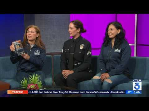 Female LAPD Officers Compete in Baker to Vegas Relay Race