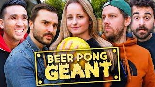 Qui est le meilleur au Beer Pong Géant ?