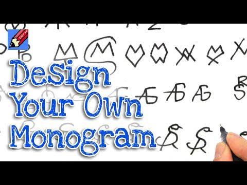 How to Design your Amazing Quick Monogram Signature Real Easy