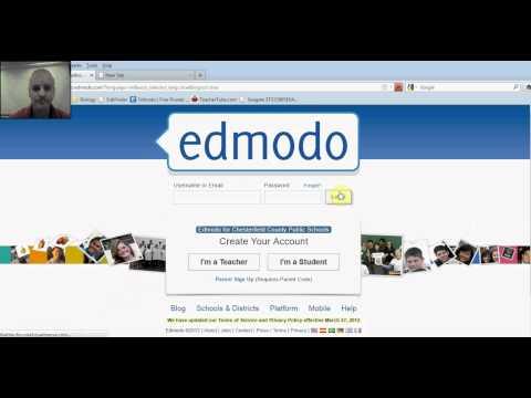 Edmodo Create a class - add student .avi
