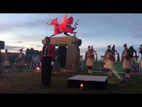 Zero Hours Dawn Ceremony and Gun Salute Passchendaele Centenary