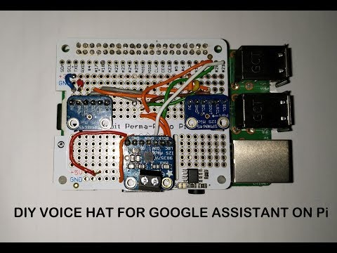Make Your Own AIY Projects Kit Google Voice HAT   DIY AIY Projects Kit Voice HAT