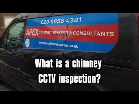 What is a Chimney CCTV inspection - Apex Chimney Sweeps London