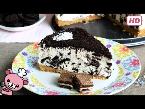 How to make easy - No Bake Oreo Cheesecake - (step-by-step video)