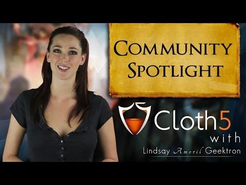 Cloth5 Community Spotlight #4 - Songs and Costumes Galore!