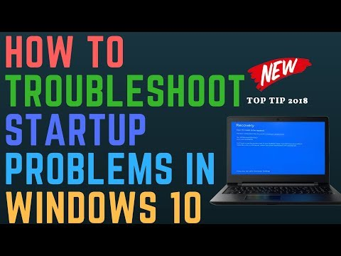 How to Troubleshoot Startup Problems in Windows 10