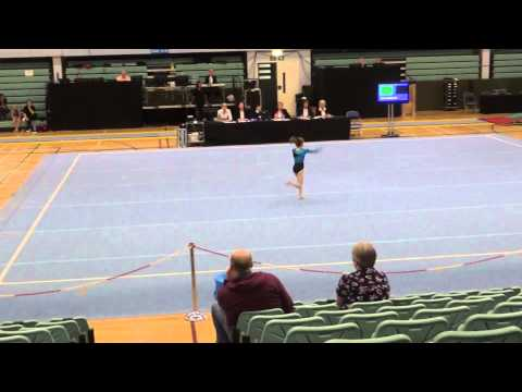 Ellie Botterill Gymnnastics - chandelier - Sia