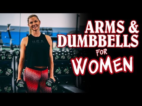 SCULPT and TONE  |  TOP 5 Arm Exercises for Women with Dumbbells