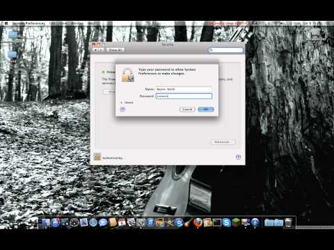Setting Up Your Firewall on Mac--[HD]