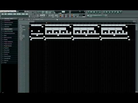 Easy and Simple Freestyle Beat in FL Studio 8!