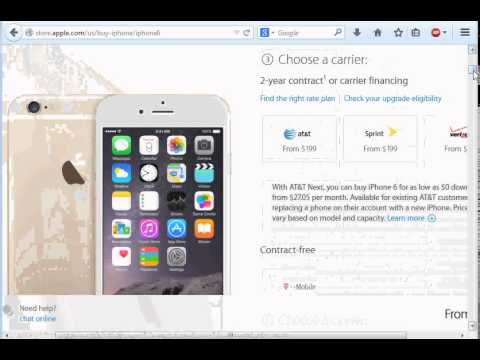 How to buy iPhone 6  without contract