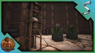 The Farming Building! Crops   Juices! - Conan Exiles [full Release Gameplay E26]