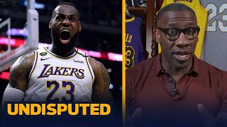 LeBron and Michael Jordan on the same team would've won 10 finals — Shannon | NBA | UNDISPUTED