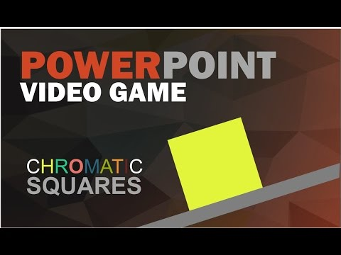 POWERPOINT VIDEO GAME TRAILER - Chromatic Squares
