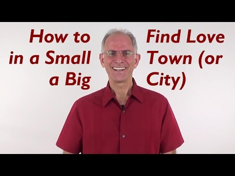 How to Attract Love in a Small Town (or a Big City) - EFT Love Talk Q&A Show