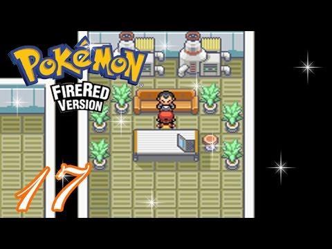 Pokemon FireRed Complete Walkthrough - Part 17: Team Rocket Boss 1 (HD 1080p)