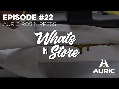 What's in Store? #22 - Auric Rosin Presses