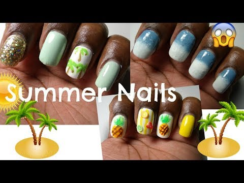 DIY: Last Minute Summer Nails