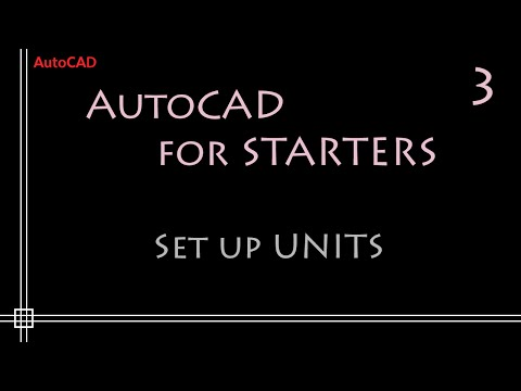 AutoCAD 2D Tutorials - 3.Units, Coordinates and Enlarge Workspace