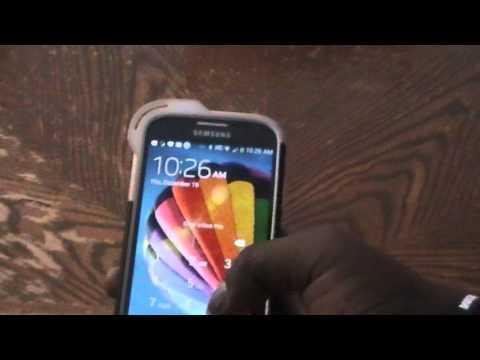 Reject Symbol on Samsung Galaxy S4