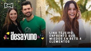 Lina Tejeiro se enfrentó a serpientes y ratas en el Inframundo de Reto 4 Elementos   El Desayuno