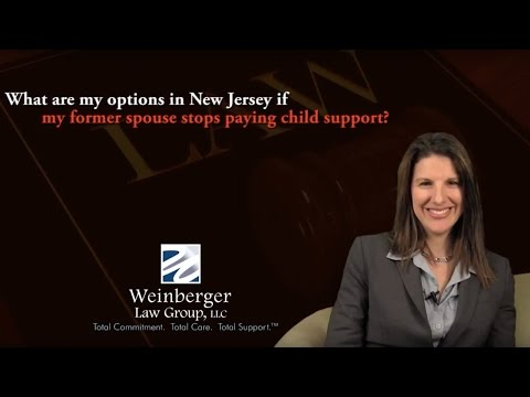 FAQ: My former spouse stopped paying child support in New Jersey